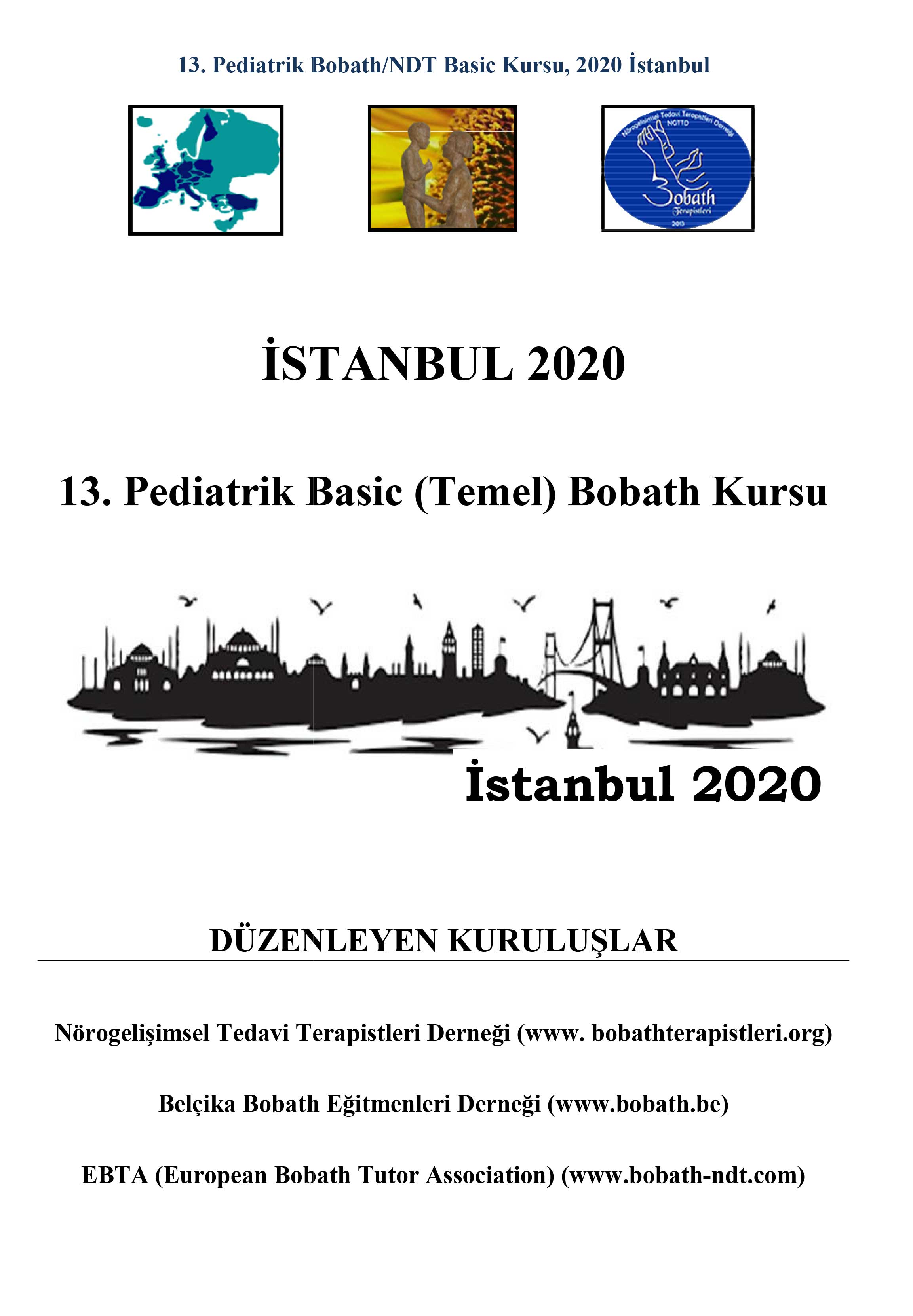 13. Pediatrik Bobath/NDT Basic Kursu