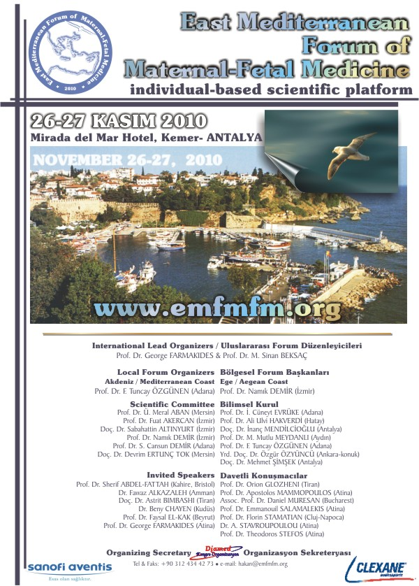 East Mediterranean Forum of Maternal Fetal Medicine