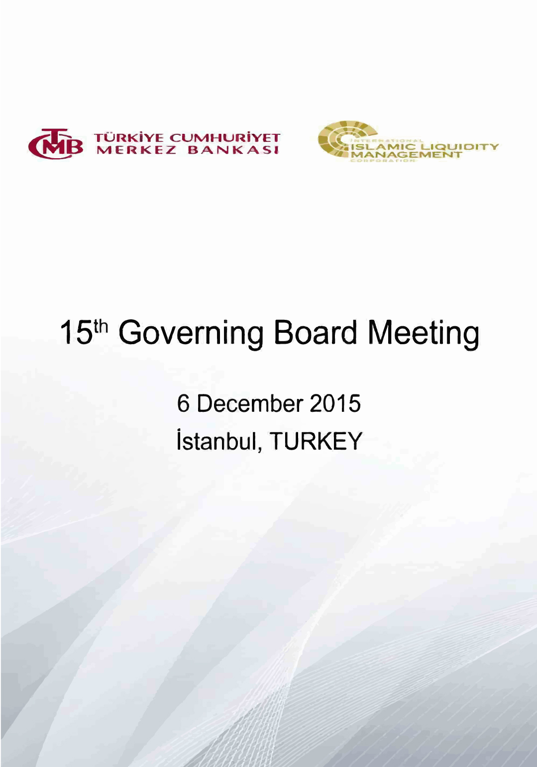 TCMB 15th Governing Board Meeting