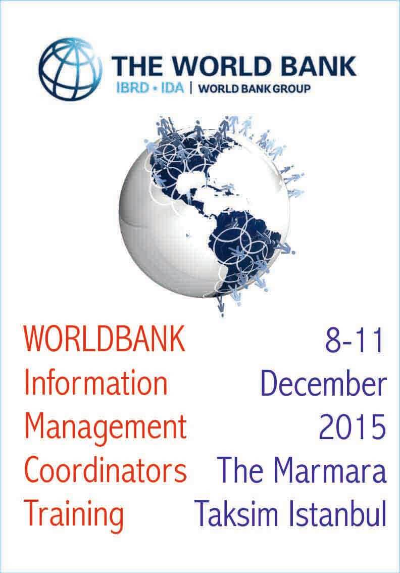 Worldbank Information Management Coordinators Training