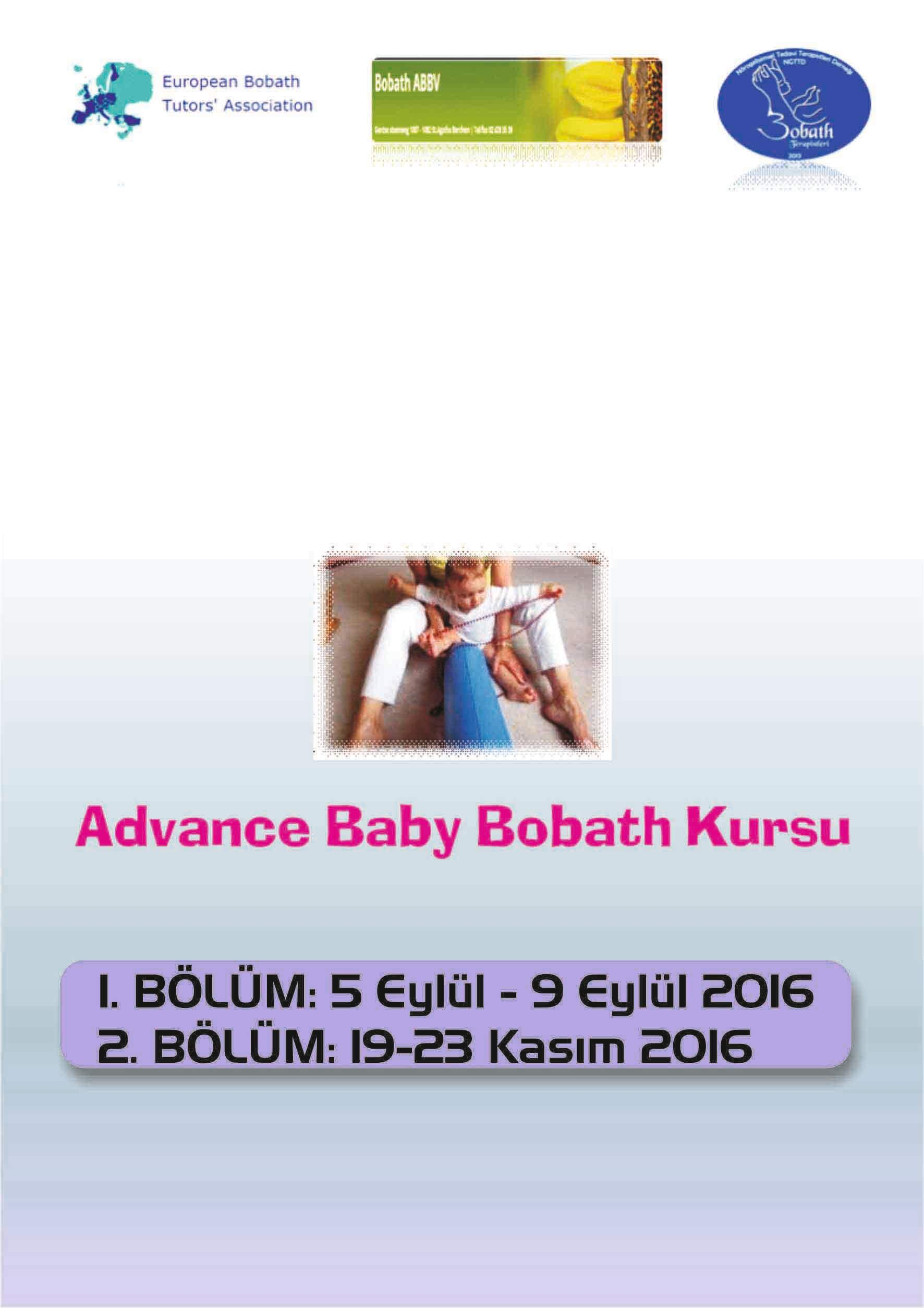 Advance Baby Bobath Kursu