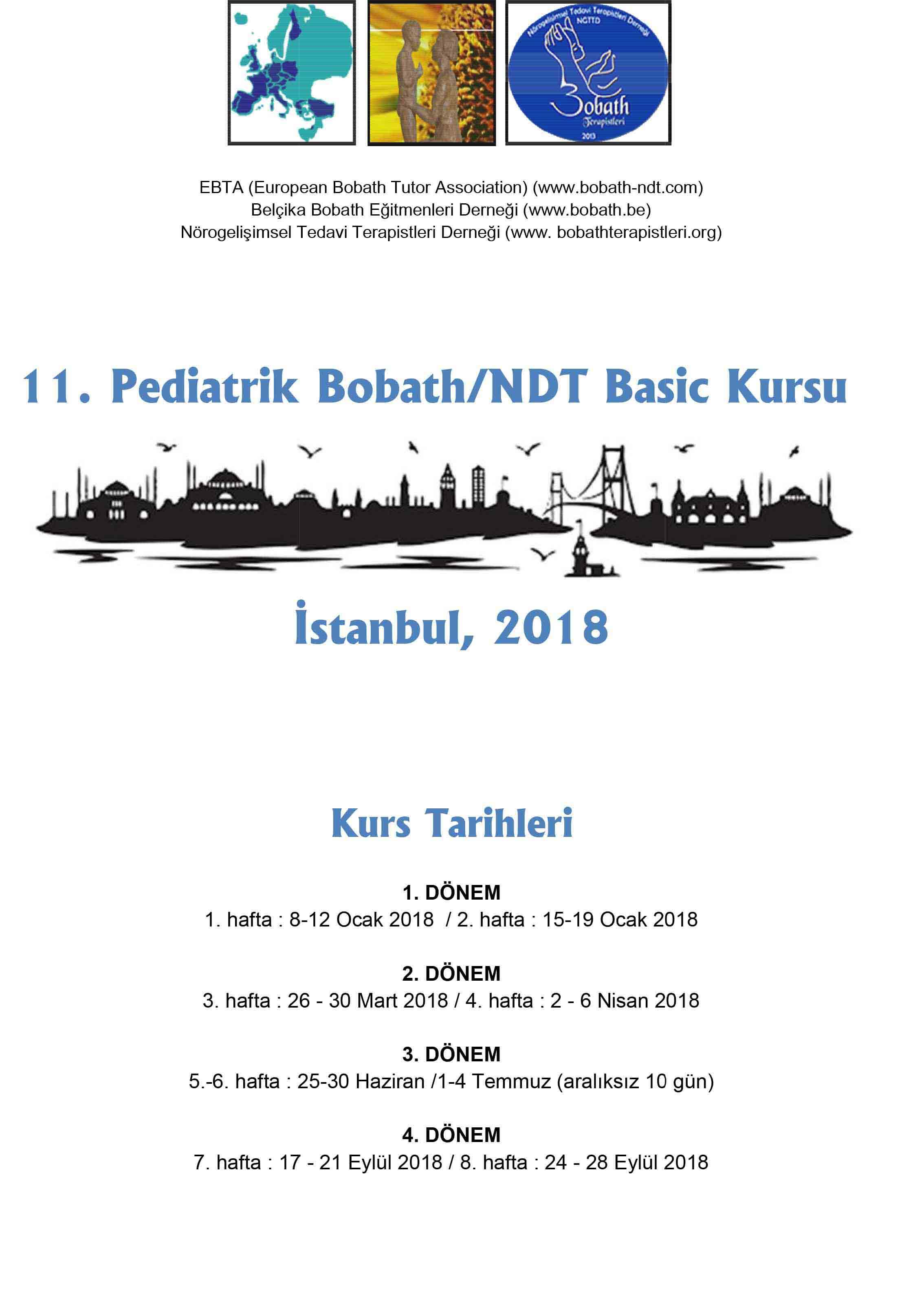 11. Pediatrik Bobath/NDT Basic Kursu